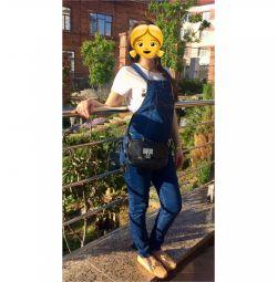 Maternity Jumpsuit Jeans