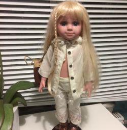 Κούκλα στο περίπτερο με το στίγμα