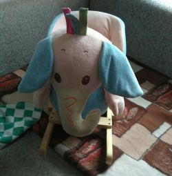 Rocking chair elephant