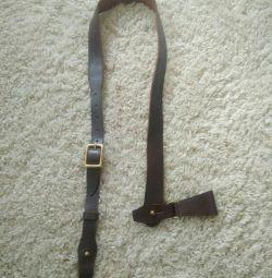 Un sling pentru o sabie. Curea din piele
