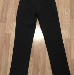 Утеплeнные джинсы
