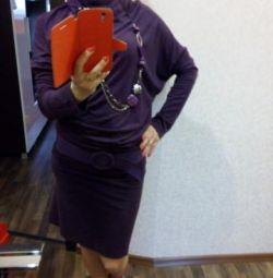 Платье,тянется ( можно для беременных)