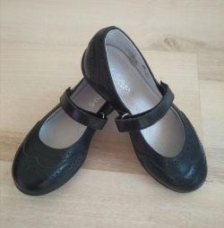 Туфли кожаные Элегами