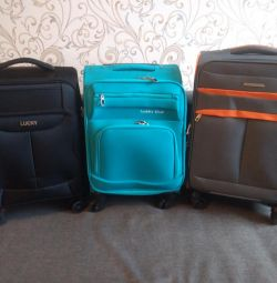 New suitcases - carry-on baggage