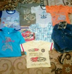 A package of things for a boy of 3-4 years