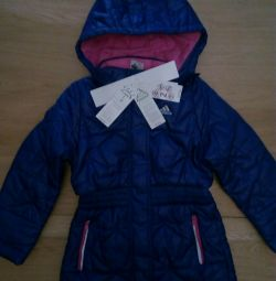 Jacket for girl adidas perfomance.Rost 123-128