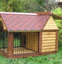 Büyük köpekler için stand + büyük kuş kafesi