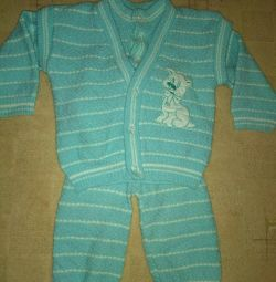 Suit on the baby