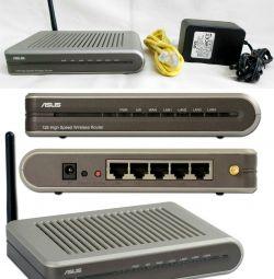 WiFi Роутер маршрутизатор точка доступу ASUS WL520
