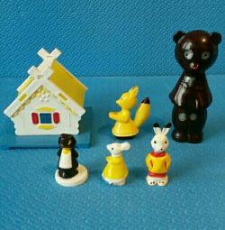 Set of toys