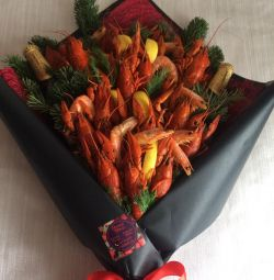 Male bouquet of crayfish ???