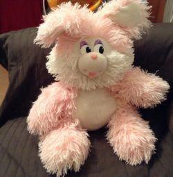 М'яка іграшка заєць
