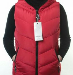 Waistcoat insulated female (sintepon 130 g.)
