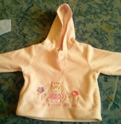 Blouse fleece for 3-6 months