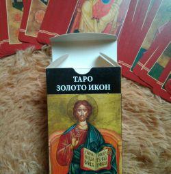 Tarot Gold Cards Icons