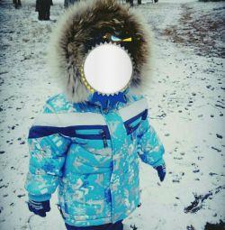 costum de iarna frumos