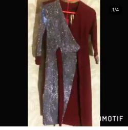 Новые платья разные цвета