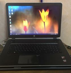 HP Pavilion 17-F001sr 4 cores large screen 17.3