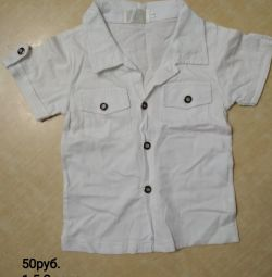 Футболка рубашка детская