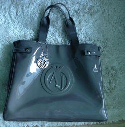 Τσάντα τζιν Armani