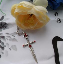 NEW cross on a chain
