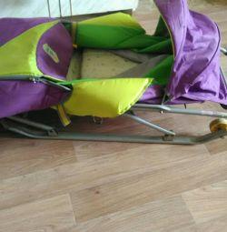 Nick's sled stroller