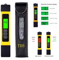 Digital TDS meter TDS / EC / LED / TEMP meter (hold)
