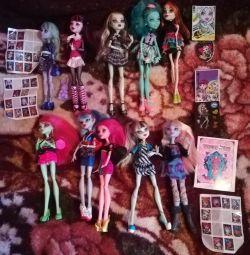 Monster High Original. Base dolls