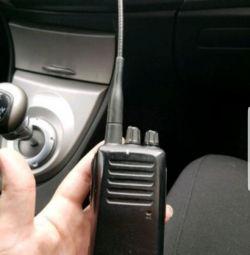 Radio with base