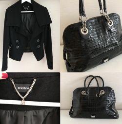 Пальто і сумка