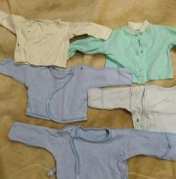 Μπλουζάκια του μωρού