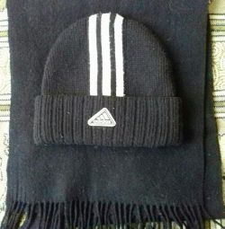 Winter set (hat and scarf)