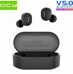 🔥 Ακουστικά TWS QCY QS2 T1S BT5.0 AAC Πρωτότυπο