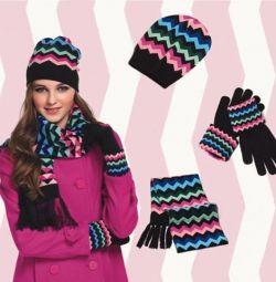 Καπέλο, Κασκόλ και Γάντια