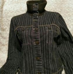 Джинсовий курточка жіноча 44-46
