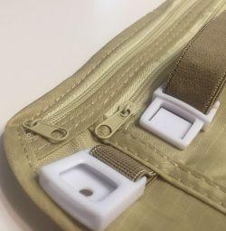 Travel bag for belt documents