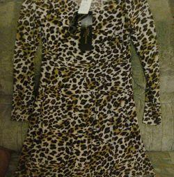 Yeni şık streç elbise.44-46 ruble.
