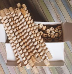 Wooden curlers