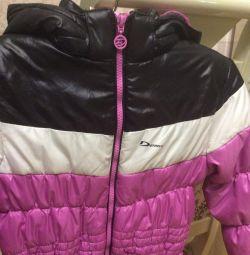 Jacket for girl extension 134 Demix