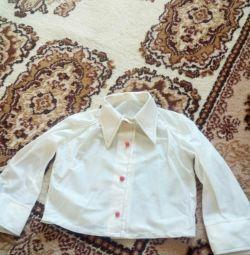Kız için gömlek