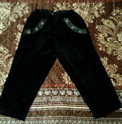 Вельветовые штаны р 48-50