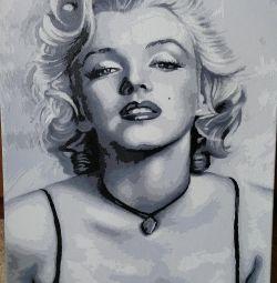 Marilyn Monroe tarafından Resim.
