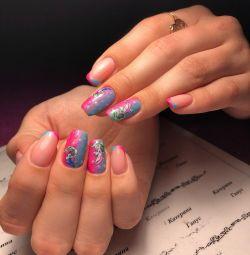 Manicure courses, extensions, gel polish