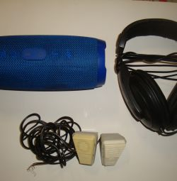 Bluetooth speaker / headphones / microphones USSR