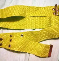Belt belt fabric