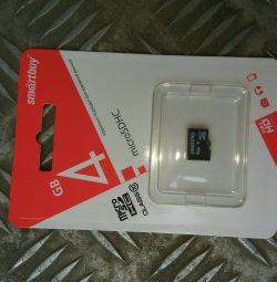 Κάρτα μνήμης Flash 4GB κατηγορίας 10