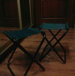 2 scaune pentru pescuit