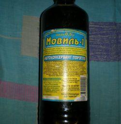 auto-preservative Movil-1 corrosion protection