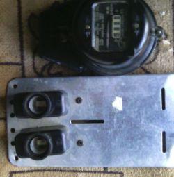 2электросчетчика+щиток