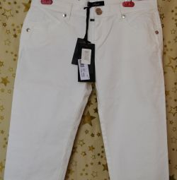 White new with tag breeches M brand